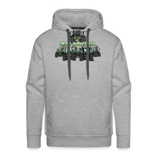 MeanAndGreen6F - Mannen Premium hoodie