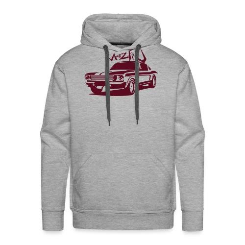 american_car__art2feu - Sweat-shirt à capuche Premium pour hommes
