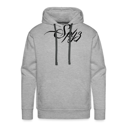 Logo vom Rapper Spyz! - Männer Premium Hoodie
