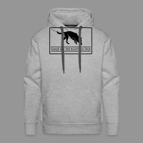 Fährtenhund - Männer Premium Hoodie