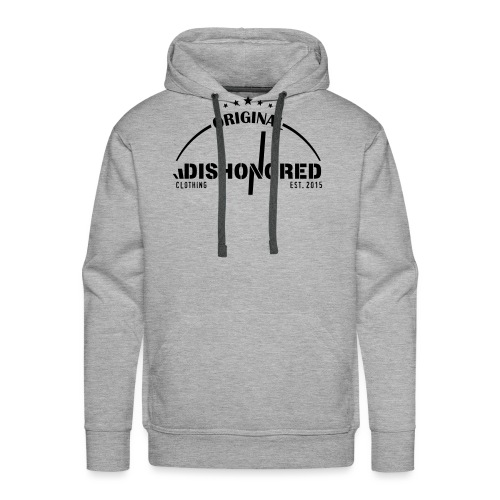 DISHONORED BROTHERS // BASIC SHIRT, BLACK AND RED - Männer Premium Hoodie