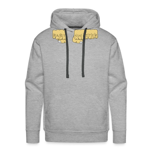 Babyshitter Faust Tattoo - Männer Premium Hoodie