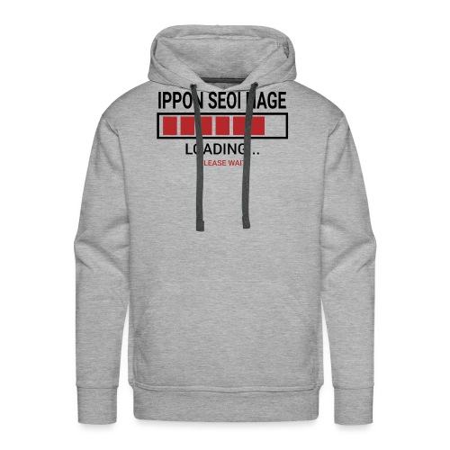 Loading... Ippon Seoi Nage - Bluza męska Premium z kapturem