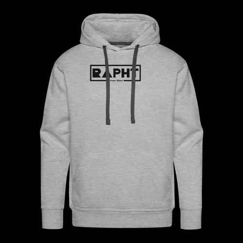 RAPHT long-sleeve simple - Men's Premium Hoodie