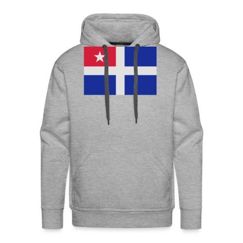 Kreta-Flagge Geschenk Reise - Männer Premium Hoodie