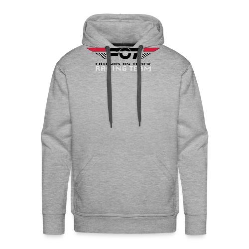FOT Gross 01 roter HG - Männer Premium Hoodie