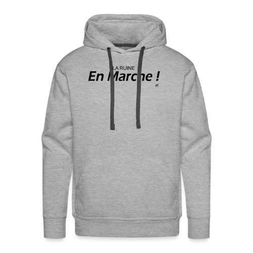 LREM, La Ruine En Marche - Sweat-shirt à capuche Premium pour hommes