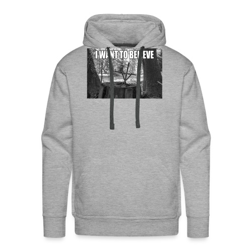 I want to believe - Männer Premium Hoodie