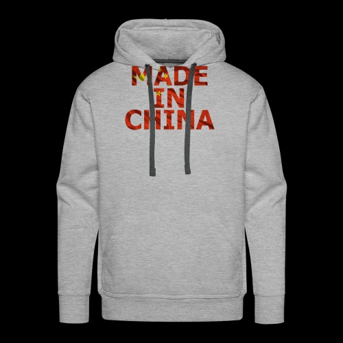 made in china - Sweat-shirt à capuche Premium pour hommes