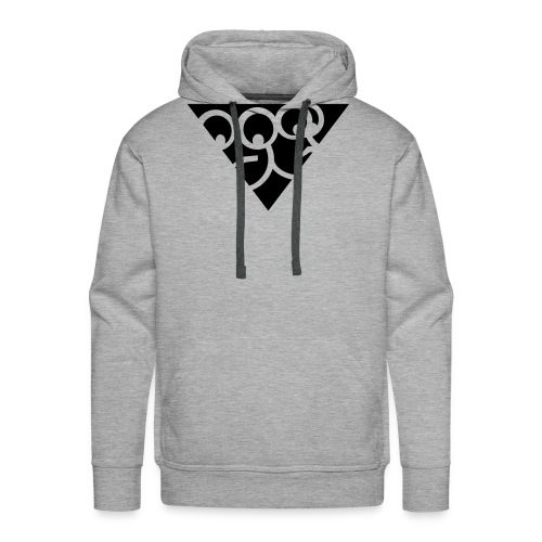 Aussenseiter-Shirt (Schwarz-Gelb) - Männer Premium Hoodie