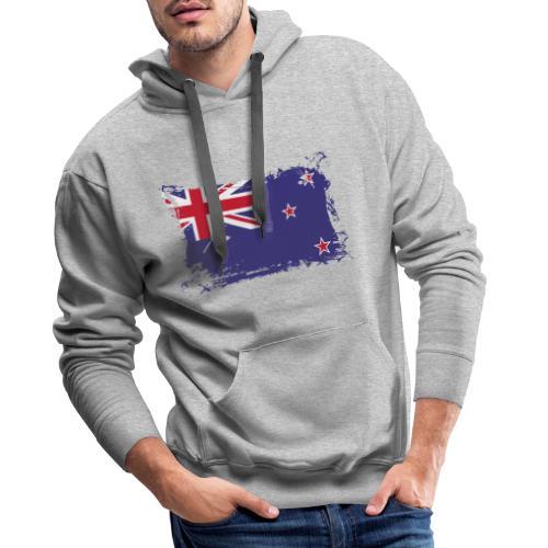 New Zealand Flag, Flagge Neuseeland - Männer Premium Hoodie