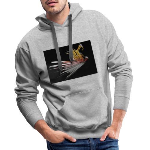 Abstract Bird - Men's Premium Hoodie