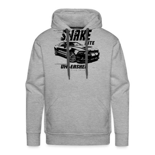 Unleashed Super Snake Bite - American Muscle Car - Männer Premium Hoodie