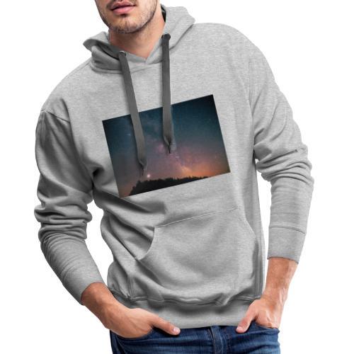 Milchstraße Fotografie Galaktisches Zentrum - Männer Premium Hoodie