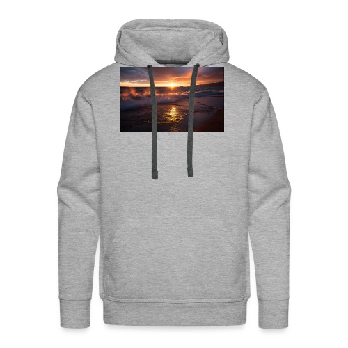 Magic sunset - Sudadera con capucha premium para hombre
