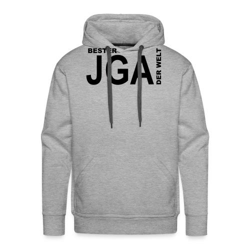 Bester JGA der Welt - Männer Premium Hoodie