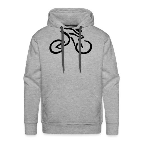 fietsen - Mannen Premium hoodie