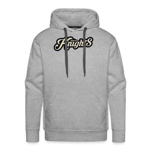 classic logo - Mannen Premium hoodie