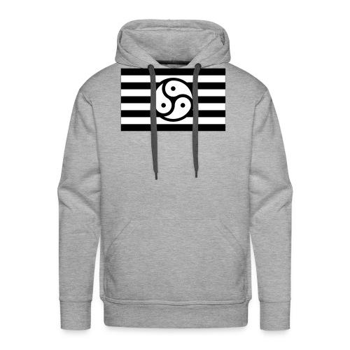 Frauen/Herrinnen T-Shirt BDSM Flagge SW - Männer Premium Hoodie