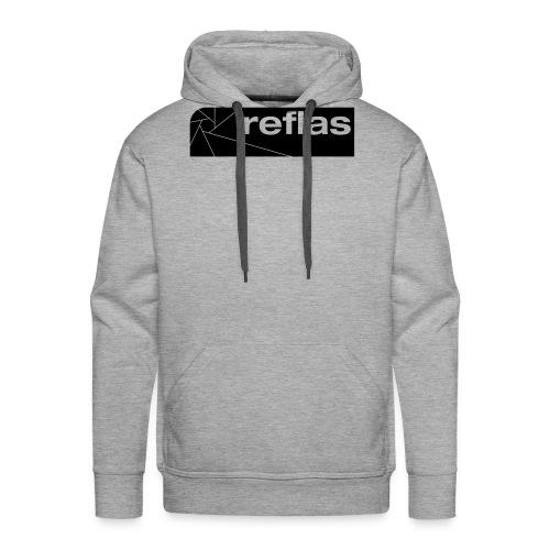 Reflas Clothing Black/Gray - Felpa con cappuccio premium da uomo