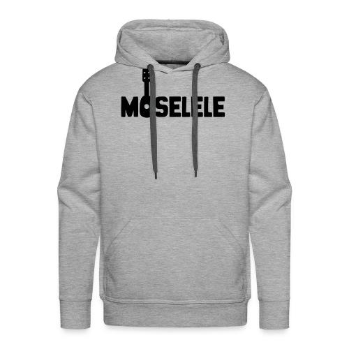 moselelelogoblack - Men's Premium Hoodie
