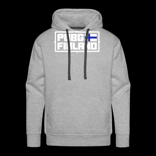 PUBG Finland white - Miesten premium-huppari