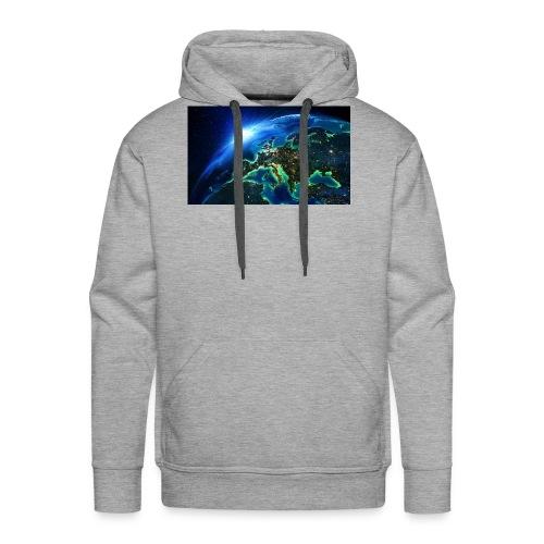 Planeta Tierra - Sudadera con capucha premium para hombre
