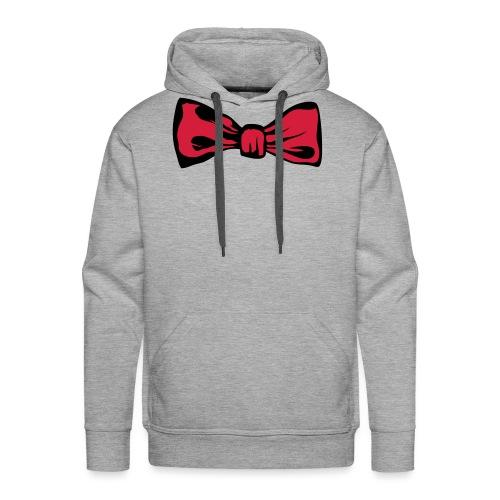 noeud papillon 2711 - Sweat-shirt à capuche Premium pour hommes