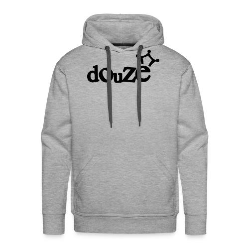 logo_douze - Sweat-shirt à capuche Premium pour hommes
