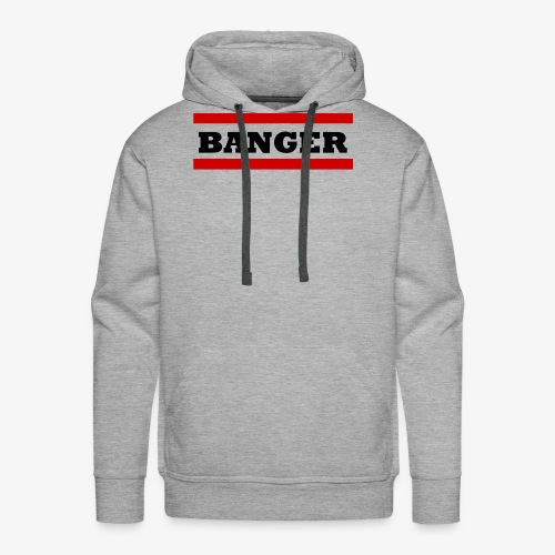 Banger2 png - Männer Premium Hoodie