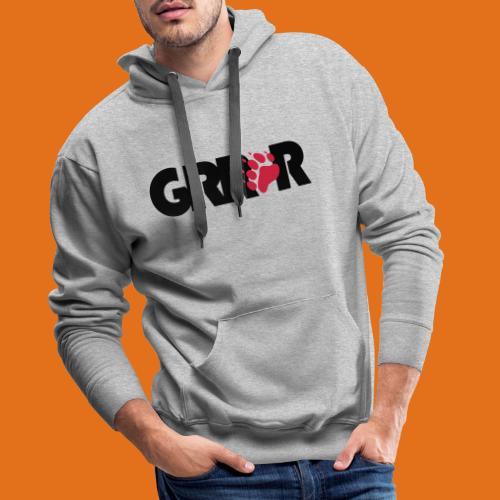 grrr2011 - Men's Premium Hoodie