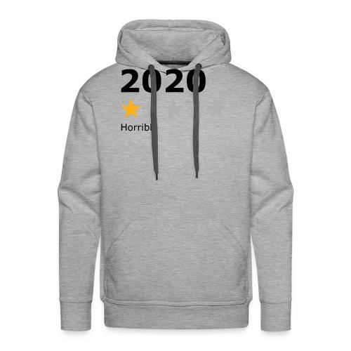 2020 horrible - Sweat-shirt à capuche Premium pour hommes