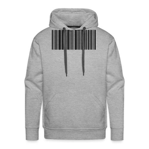 Laurent Barcode - Sweat-shirt à capuche Premium pour hommes
