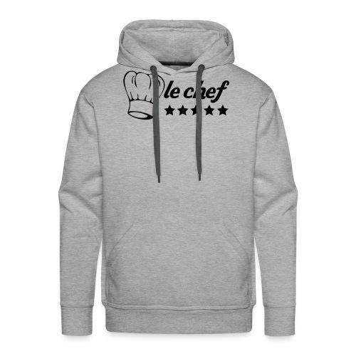 chef 5stars - Sweat-shirt à capuche Premium pour hommes