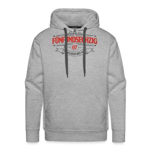 Fünfundsechzig07 Logo in rot - Männer Premium Hoodie