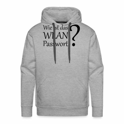 Wlan-Paßwort Variante 2 - Men's Premium Hoodie
