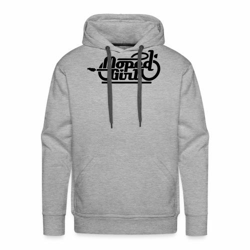 Moped Girl / Mopedgirl (V1) - Men's Premium Hoodie