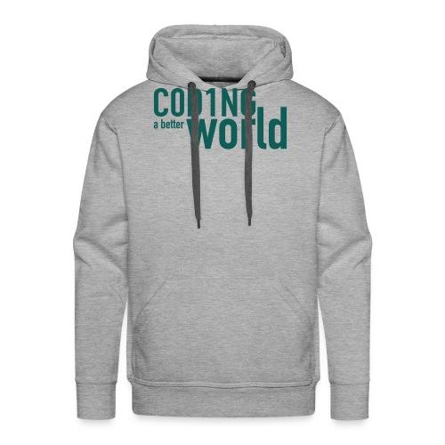 C0D1ING2 - Mannen Premium hoodie