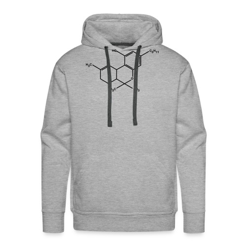 THC - weed - wiet - Mannen Premium hoodie