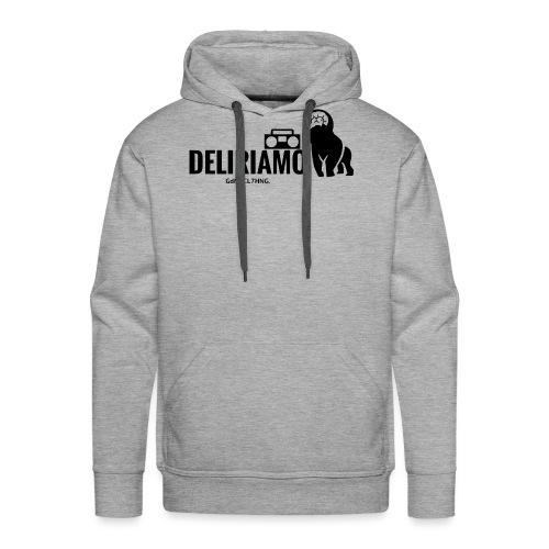 DELIRIAMO CLOTHING (GdM01) - Felpa con cappuccio premium da uomo