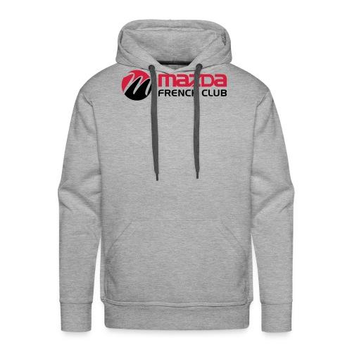 mazda french club - Sweat-shirt à capuche Premium pour hommes