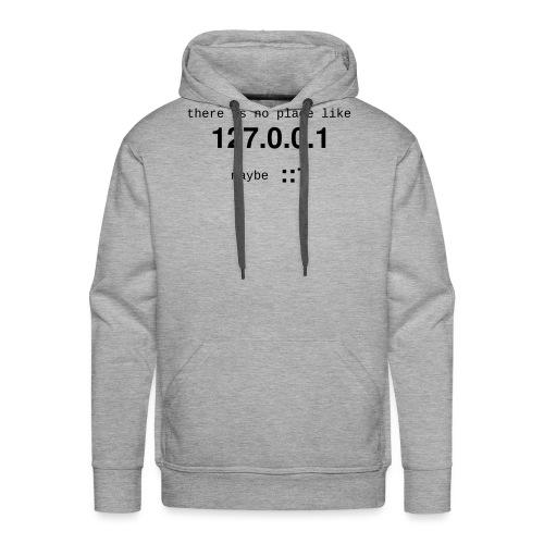 127-0-0-1-::1 - Sweat-shirt à capuche Premium pour hommes