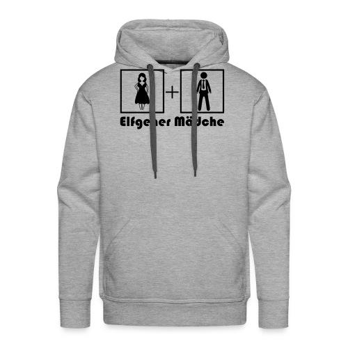 Shirt Damen hinten Maedche - Männer Premium Hoodie