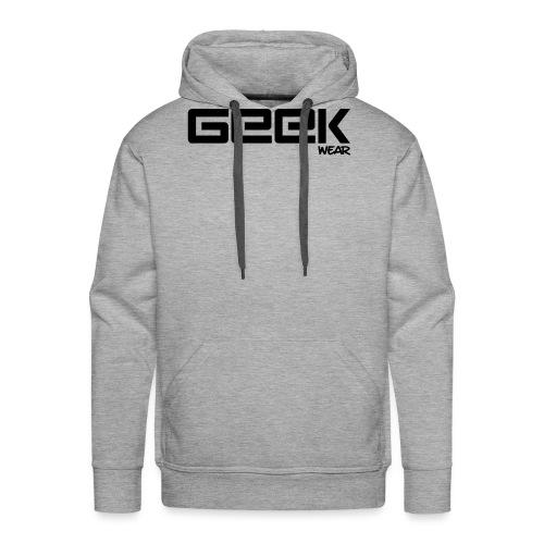 GeekWear_Logo - Mannen Premium hoodie