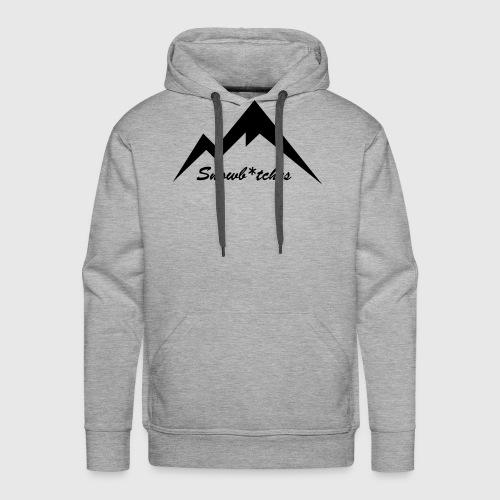 Mountains Logo (W) - Men's Premium Hoodie