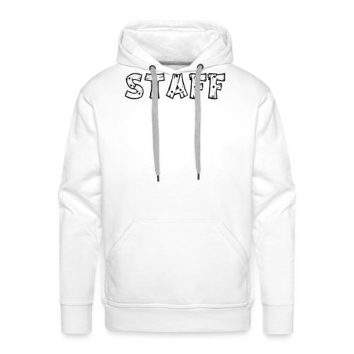 STAFF - Felpa con cappuccio premium da uomo