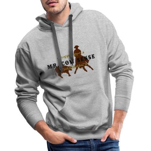 (mr_cowsense_neu) - Männer Premium Hoodie