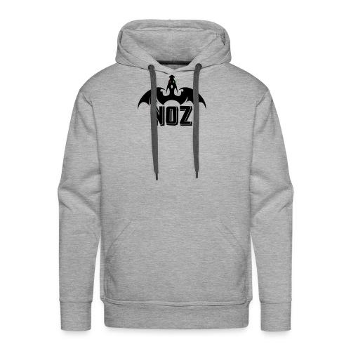 NOZlogoBlack nowhite - Men's Premium Hoodie