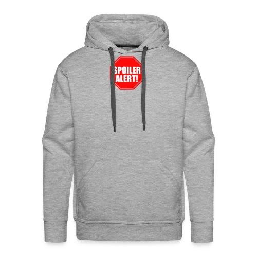 alert spoiler taza termo divertido diseño - Sudadera con capucha premium para hombre