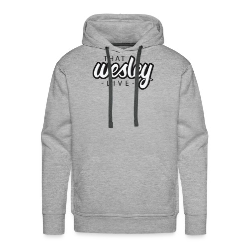ThatWesleyLOGO 3 4 png - Mannen Premium hoodie